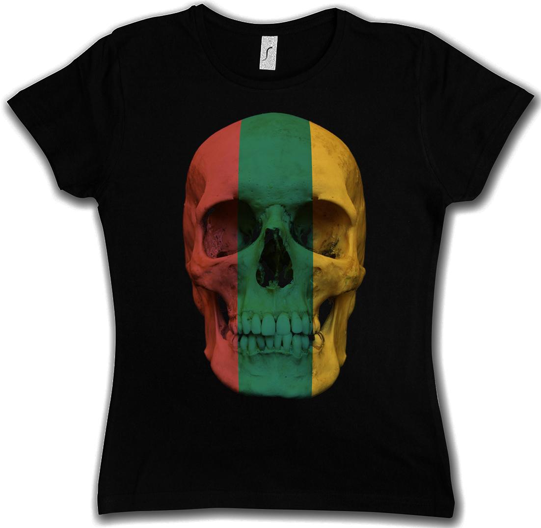 classic lithuania skull flag damen t shirt totenkopf sch del fahne litauen ebay. Black Bedroom Furniture Sets. Home Design Ideas