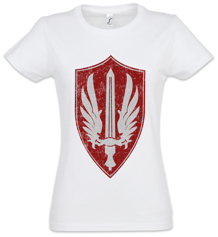 Battlestar Galactica Mens Red Aces Badge Tank Top
