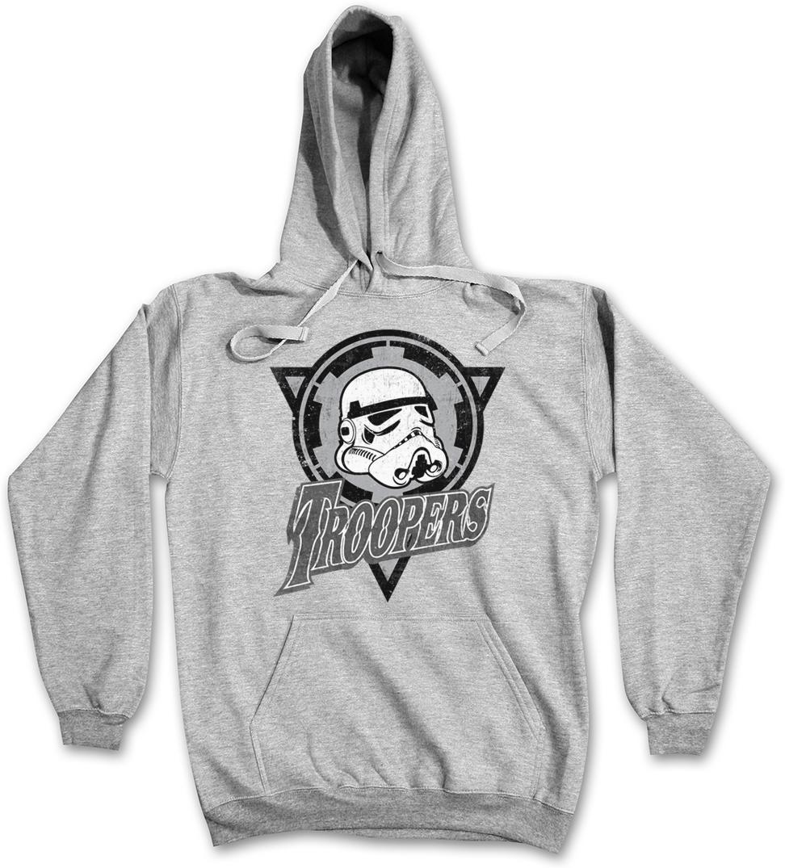 TROOPERS LOGO SWEATSHIRT PULLOVER Dark Star Stormtrooper Imperial Logo Wars
