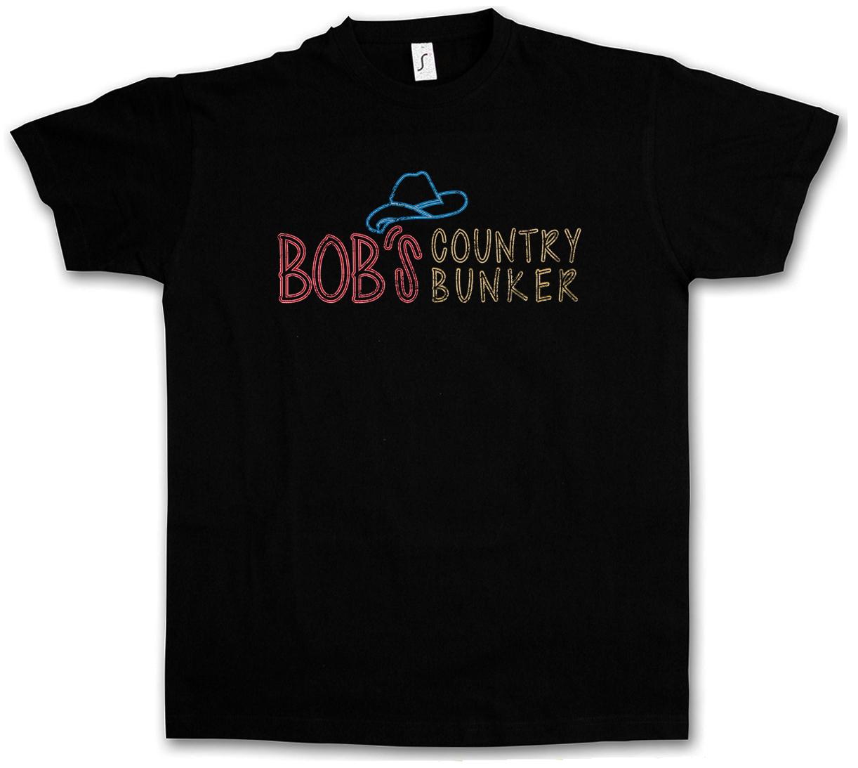 Bob/'s Country Bunker Hoodie Sweatshirt Blues Bar Club Brothers Logo The