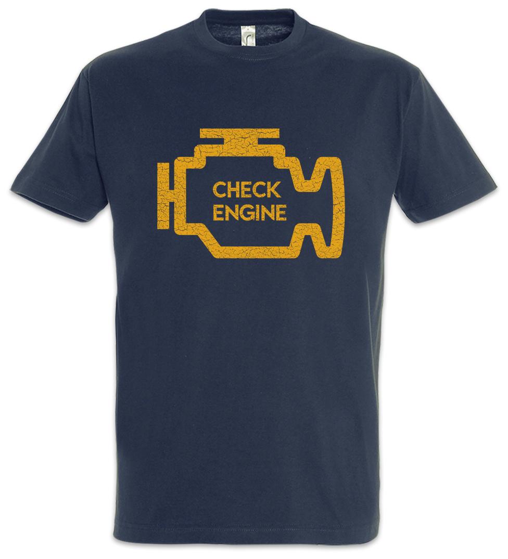 Check Engine Hoodie Sweatshirt Race Racing car driver racer Petrol Head Fun