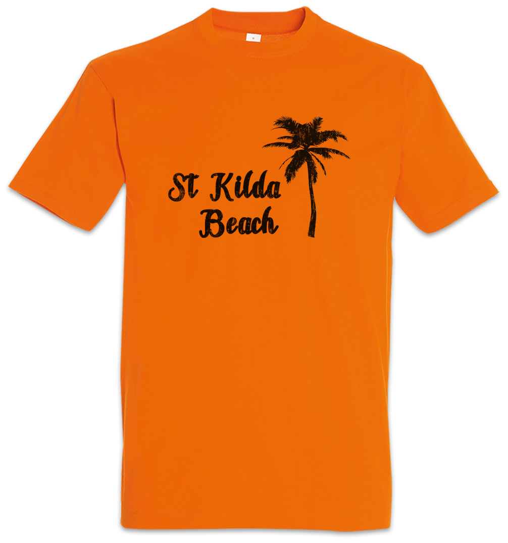 St Kilda Beach T Shirt Surfer Surfing Sea Bar And Grill Tike Wave Waves Ebay